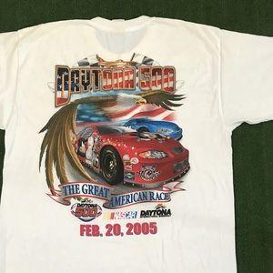 Vintage 2005 Daytona 500 NASCAR t shirt